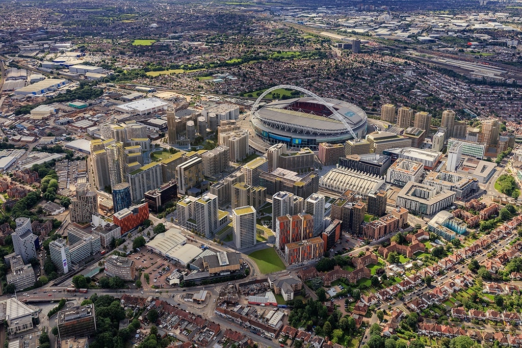 Wembley Parl Aerial View