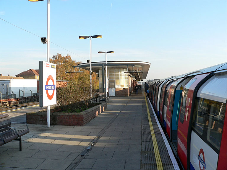 Dollis Hill Tube station