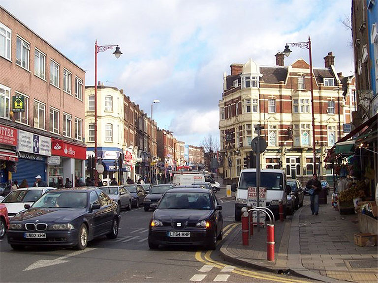 Harlesden High street