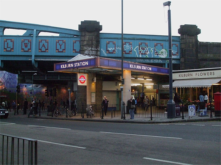 Kilburn Tube station